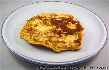 Sojamehl-Pfannkuchen