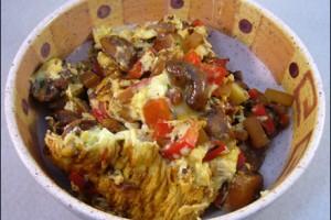 Gemuese Omelett