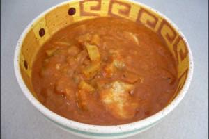 Kohlrabi-Tomatensuppe