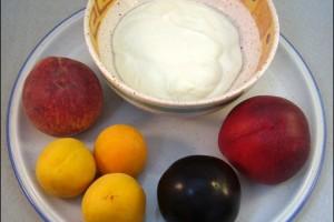 Quark mit Obst