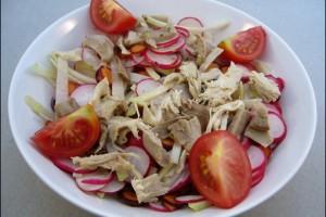 Haehnchensalat