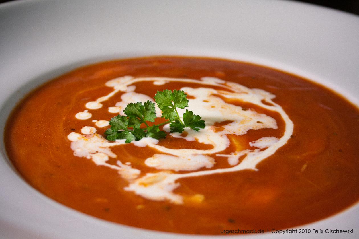 Tomaten Mozzarella Suppe Urgeschmack