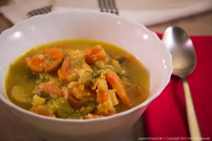 Gemüse-Curry-Suppe
