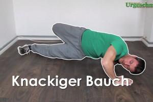 Knackiger Bauch