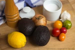 Guacamole Zutaten