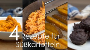 Vier Rezepte für Süßkartoffeln (Urgeschmack-TV Ep. 159)