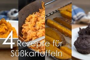 4 Rezepte für Süßkartoffeln