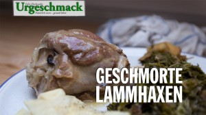 Geschmorte Lammhaxen (Video)
