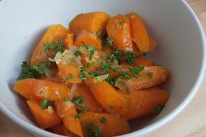 Karotten alleine essen