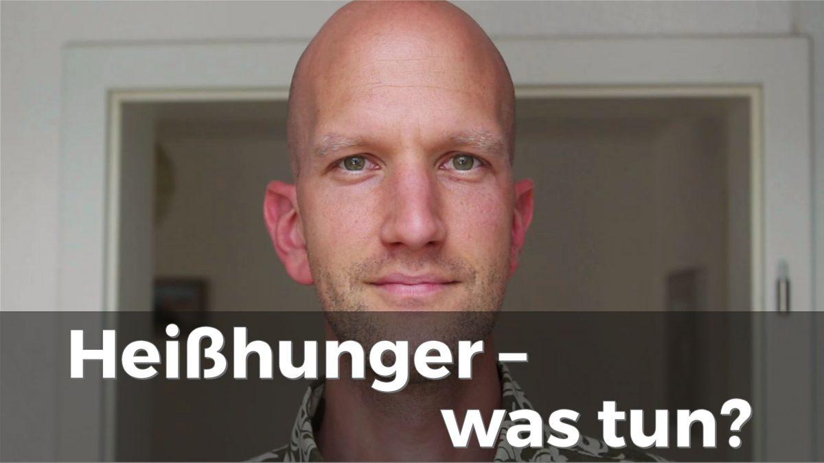 Was kann man gegen Heißhunger tun?