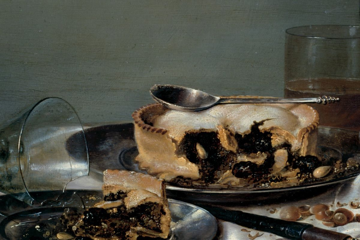 Willem Clasz. Heda - Breakfast Table with Blackberry Pie