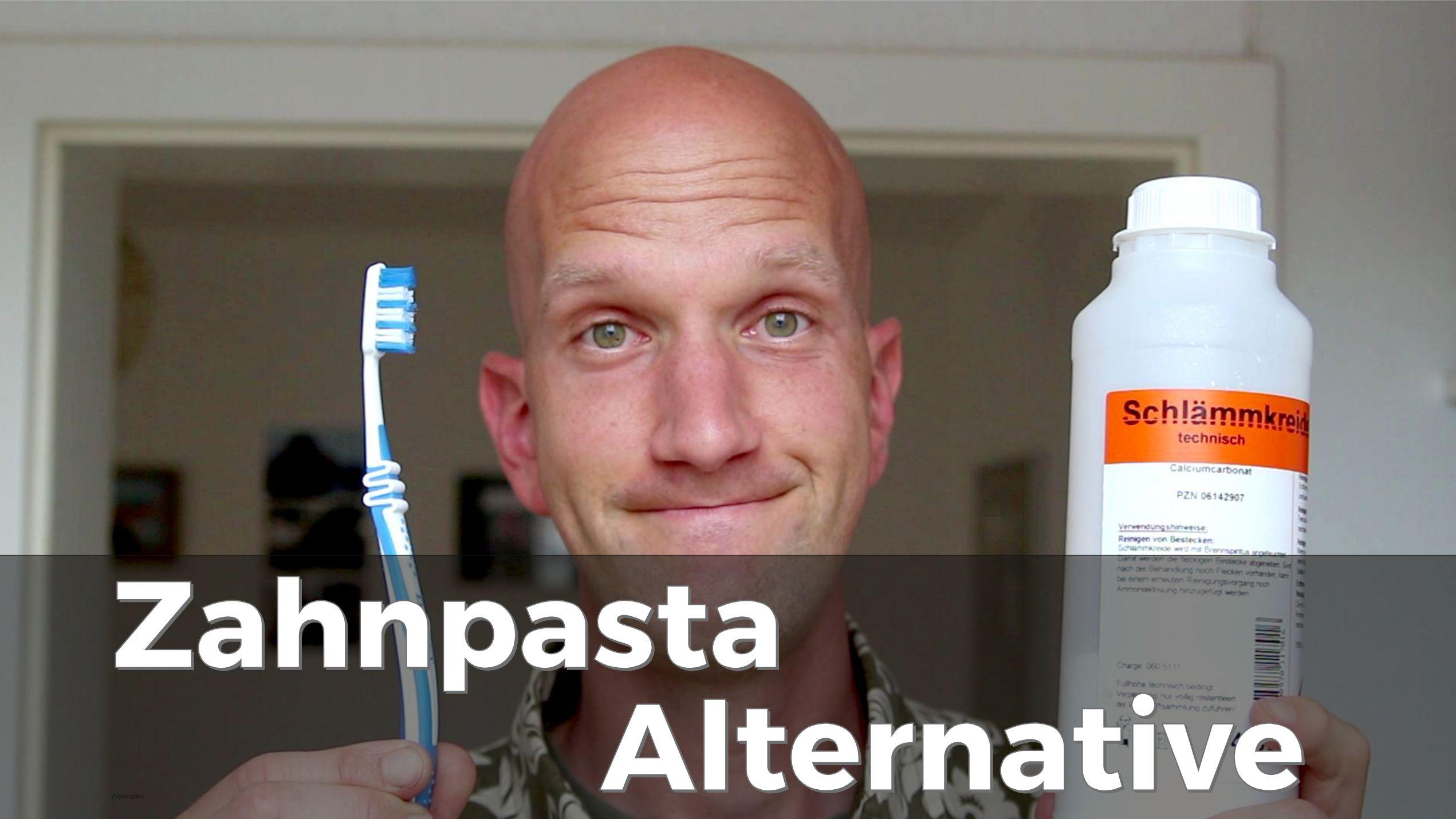Eine Zahnpasta Alternative