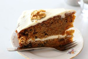 Karottenkuchen - bei Diabetes keine gute Idee.